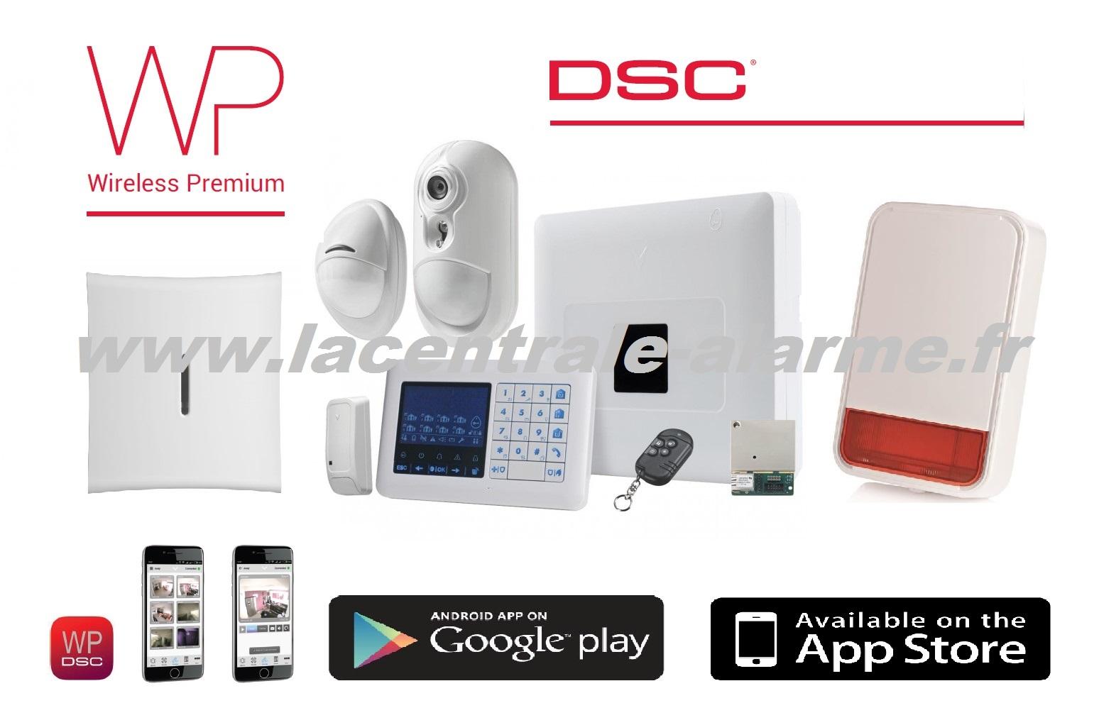 alarme intrusion filaire sans fil radio videosurveillance. Black Bedroom Furniture Sets. Home Design Ideas